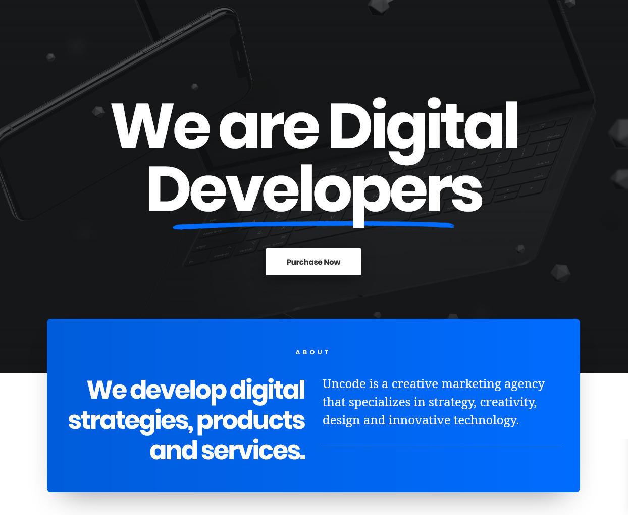 WordPress Agency Themes 1