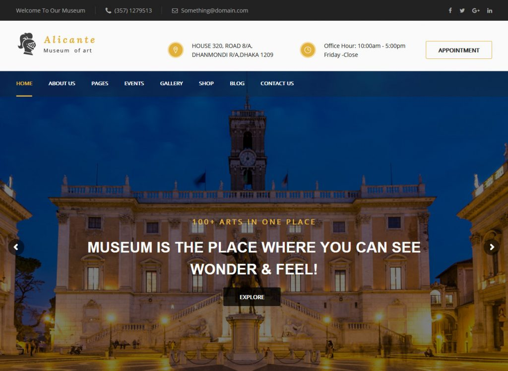 WordPress Art Gallery Themes