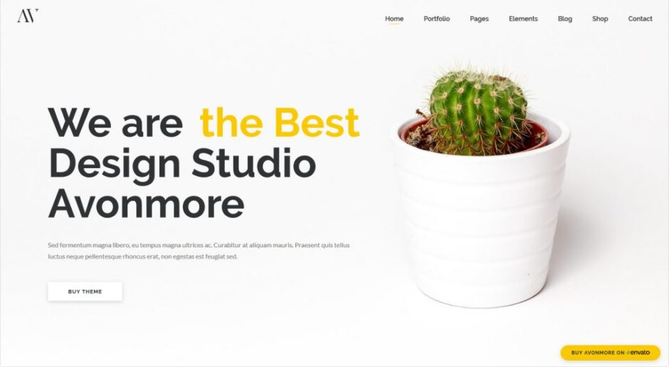 WordPress Creative Themes