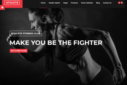 WordPress Fitness Themes