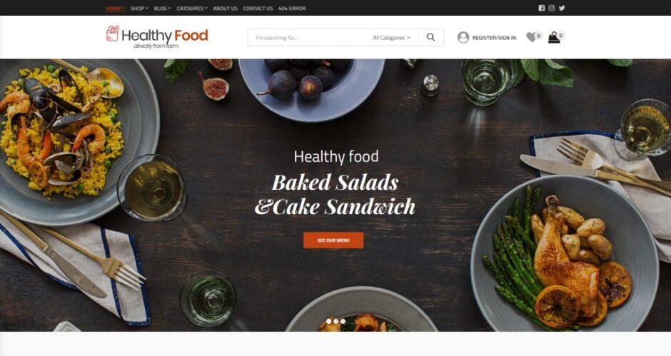 WordPress Food Blog Themes