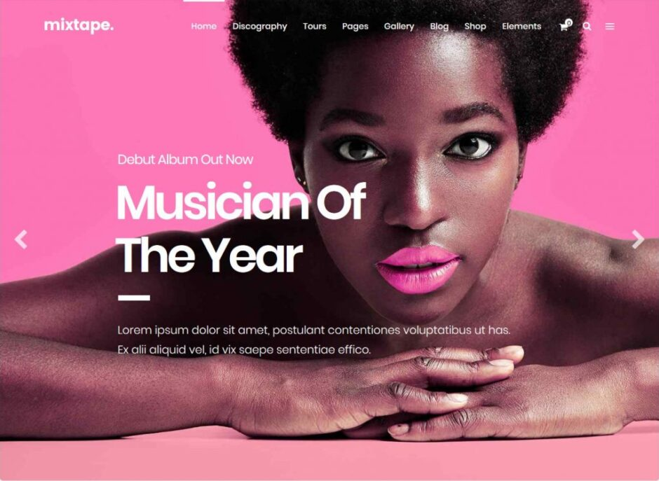 WordPress Music Themes