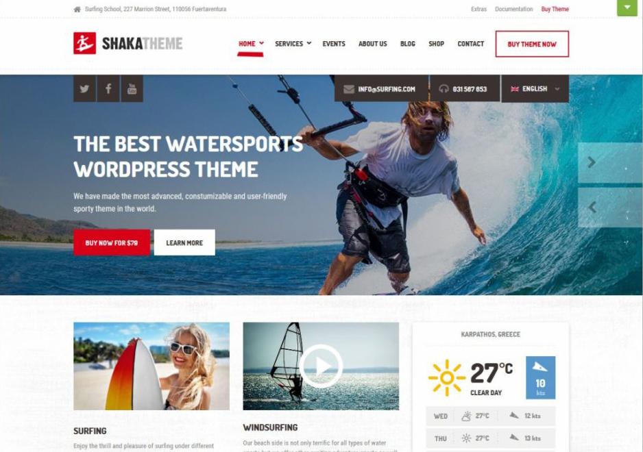 WordPress Sports Themes