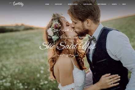 WordPress Wedding Themes