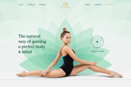 WordPress Yoga Themes