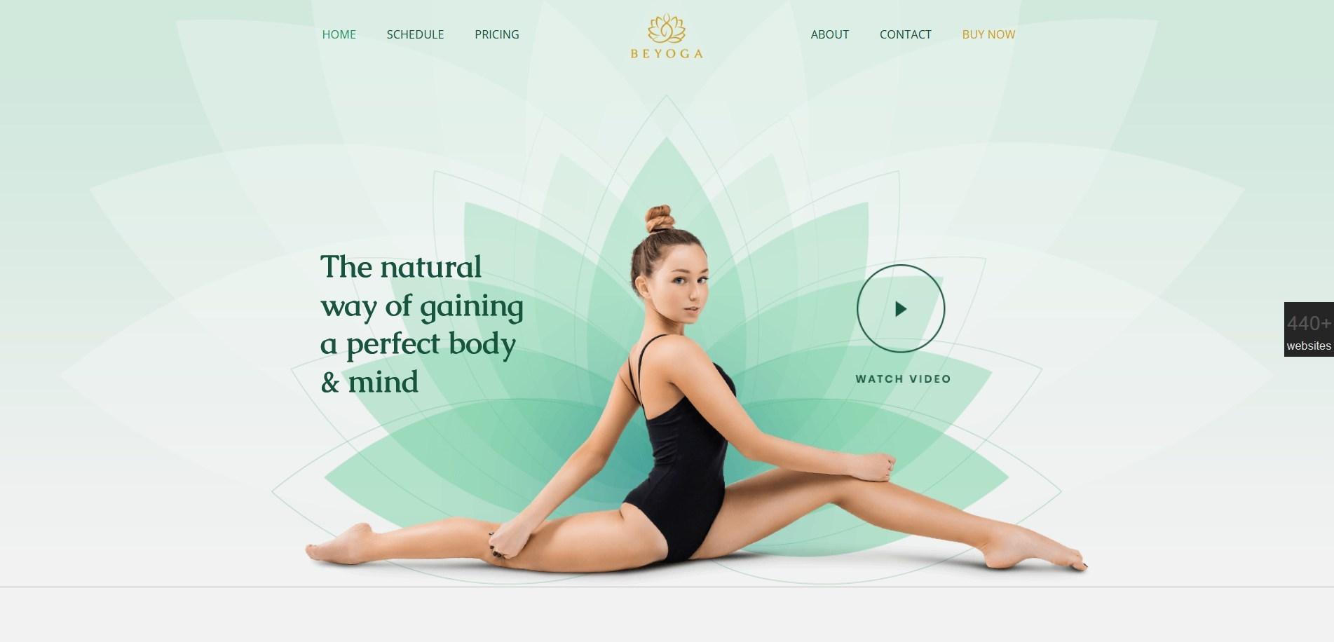 WordPress Yoga Themes
