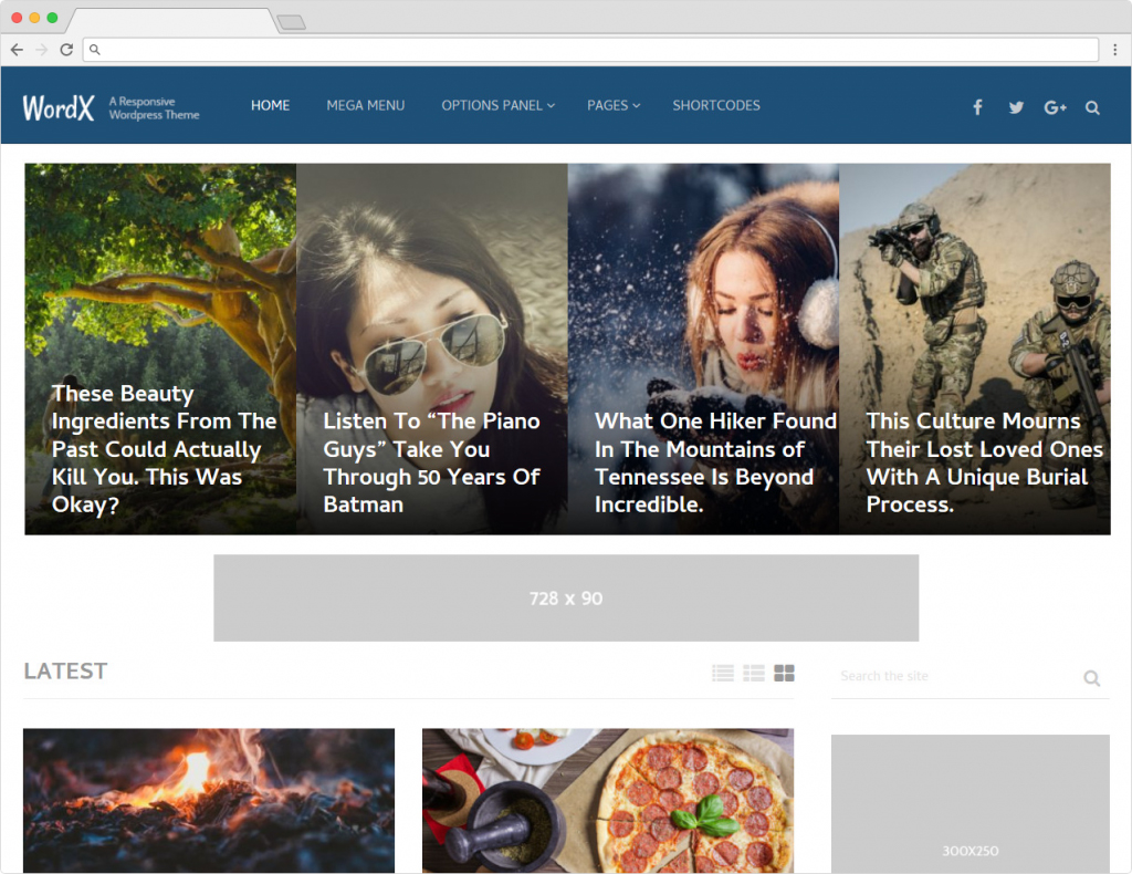 WordX Best WordPress Content Marketing Themes