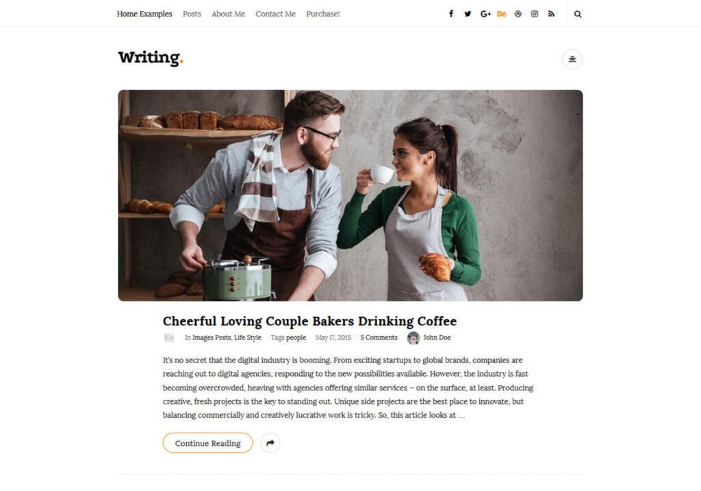 Writing Cool WordPress Theme with Nice Fonts