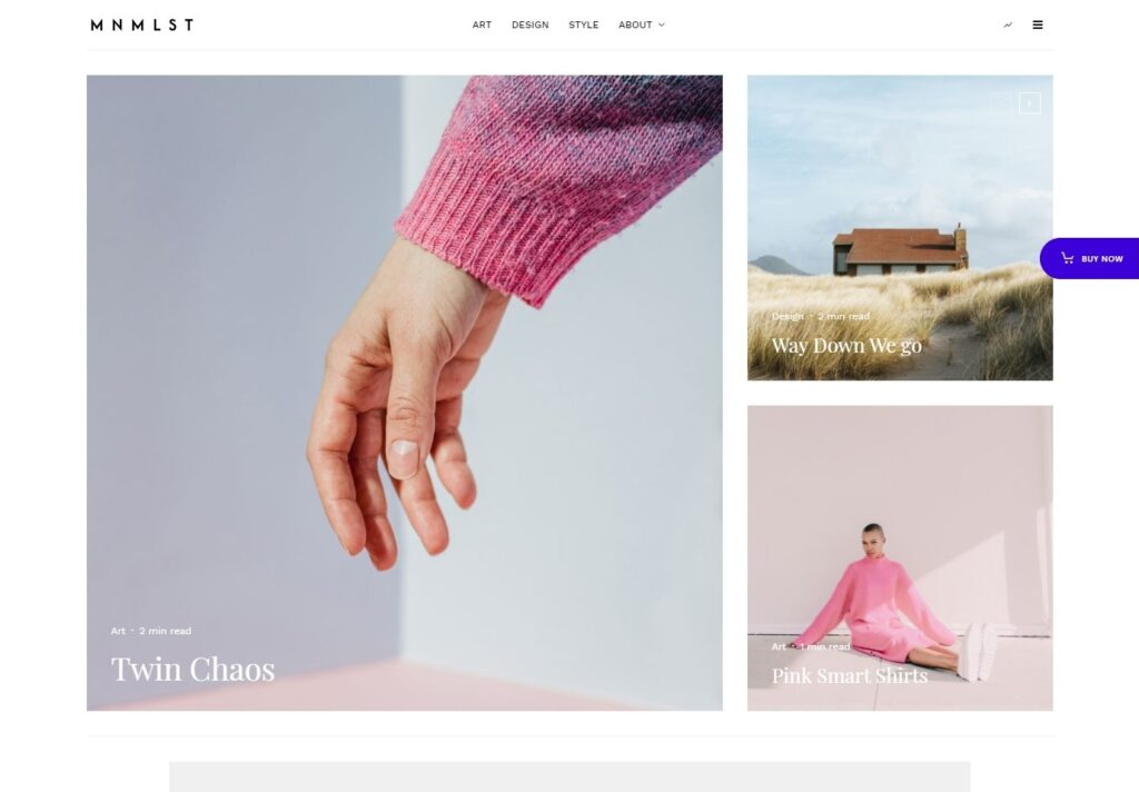 Zeen Minimal Clean Modern WordPress Magazine Theme
