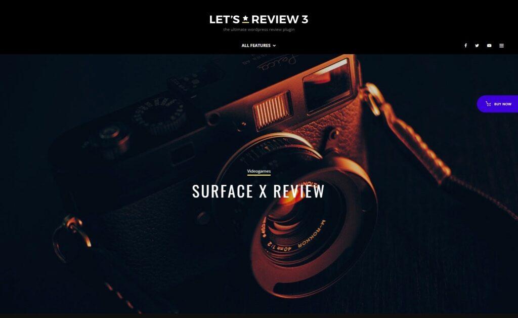 Zeen WordPress Affiliate Marketing Theme for Film Reviews