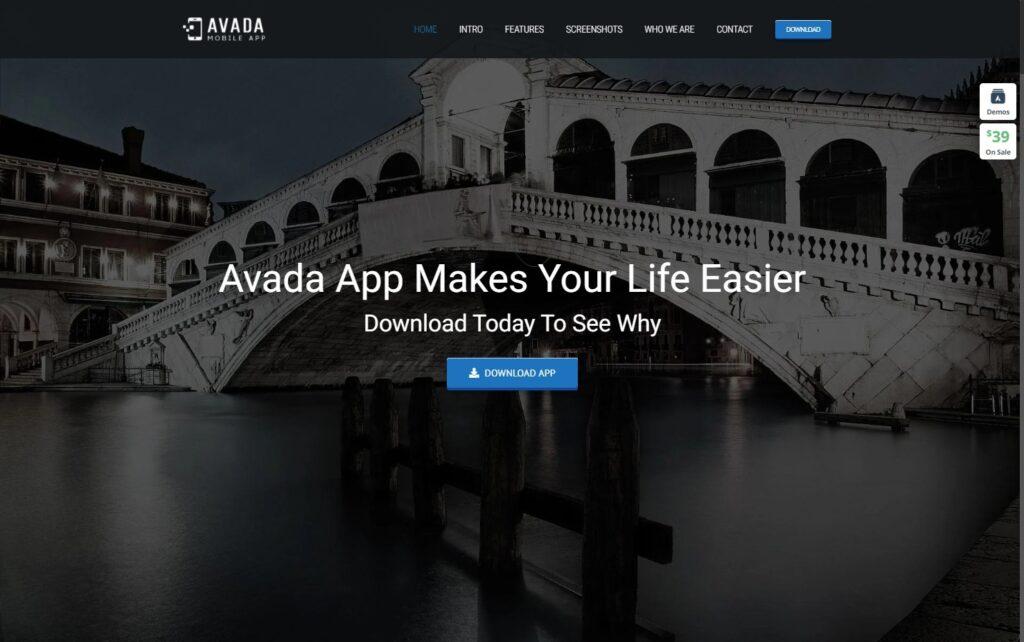 App – Avada Website Builder For WordPress WooCommerce