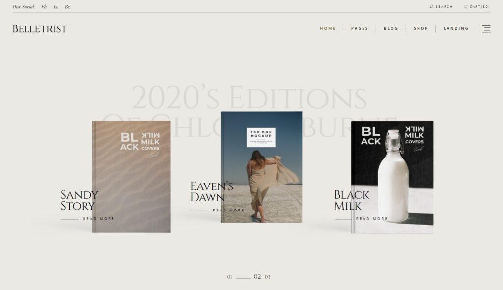 Bookstore Home – Belletrist