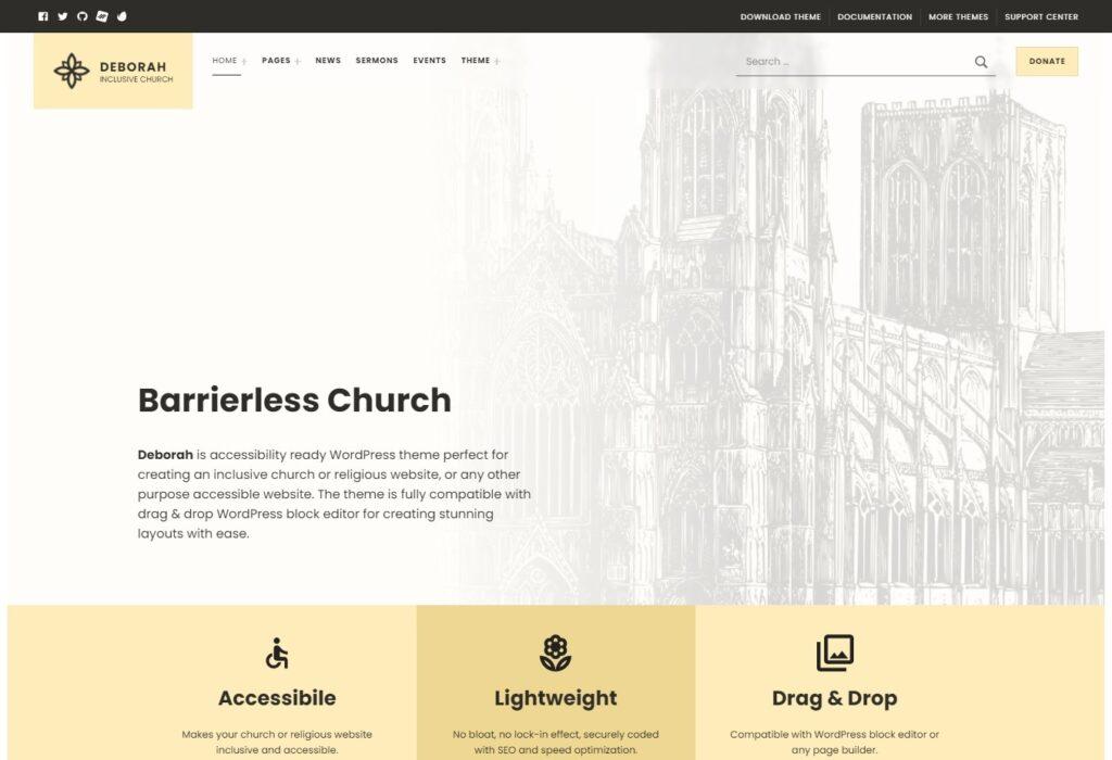 Deborah – Inclusive Church