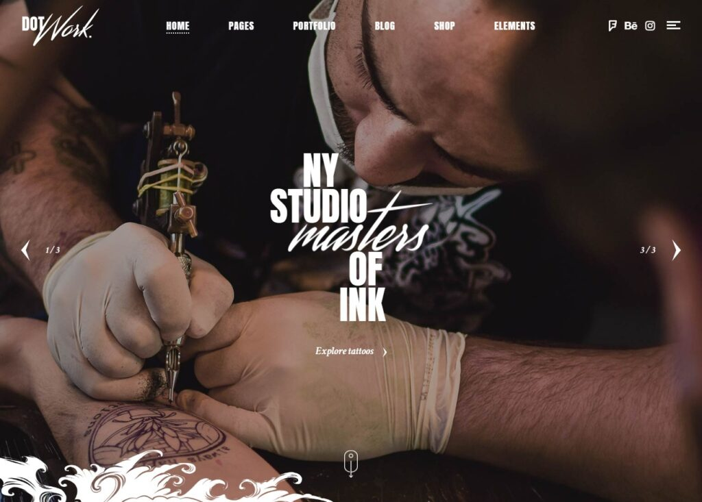 Dotwork – A Theme for Tattoo and Piercing Studios