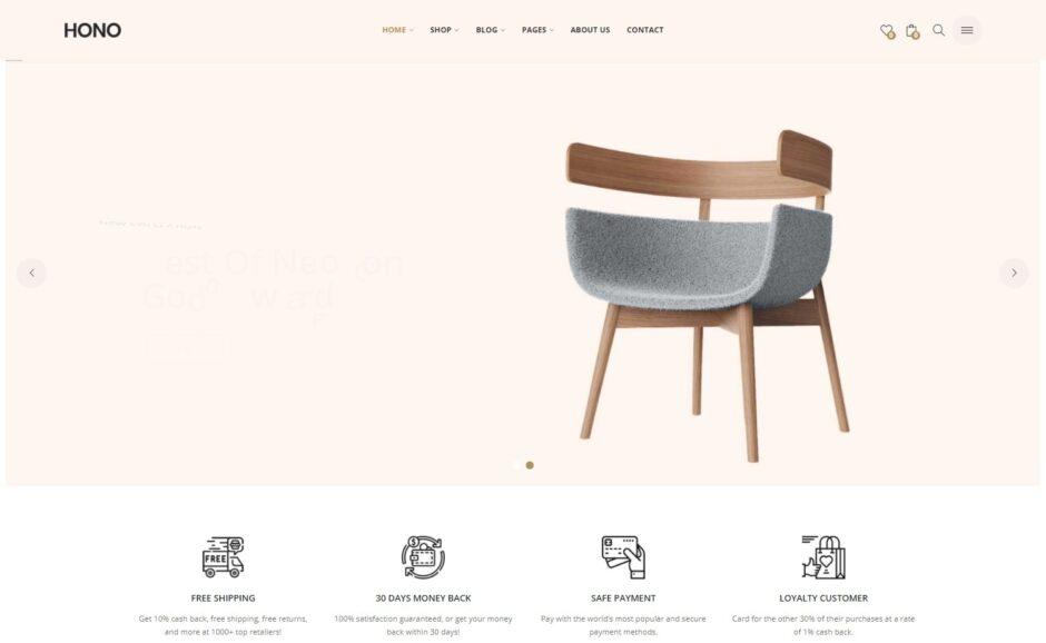 Furniture Store WordPress Themes