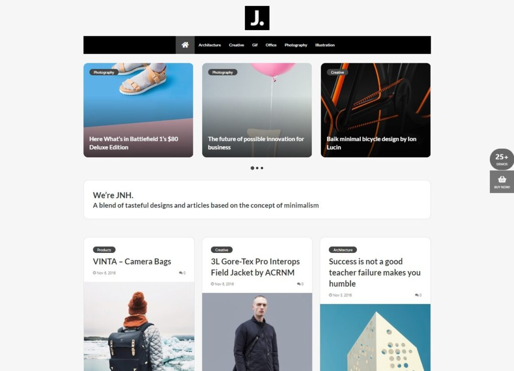 Jannah Creative – Blog Magazine Newspaper buddyPress Theme