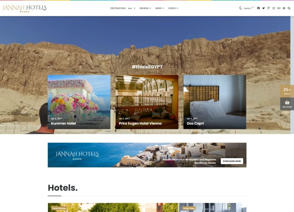 Jannah Hotels – Know better Go better