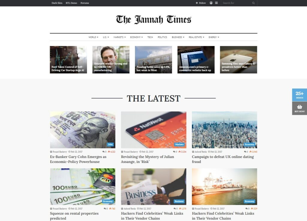 Jannah Times – The World News in One Place