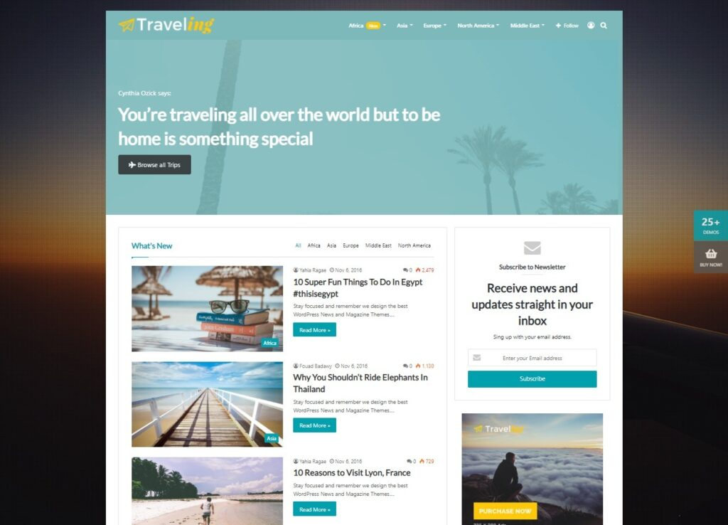 Jannah Traveling – Blog Magazine Newspaper buddyPress Theme