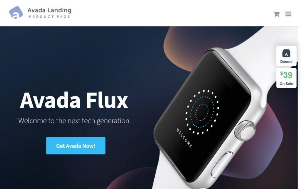 Landing Product – Avada Website Builder For WordPress WooCommerce 1