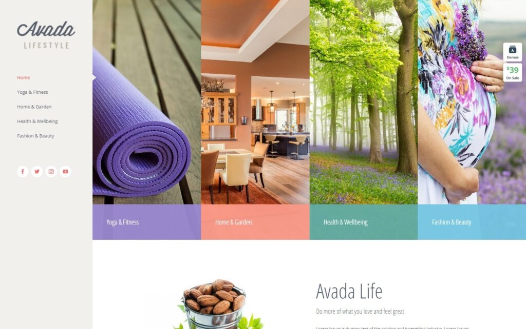 Lifestyle – Avada Website Builder For WordPress WooCommerce