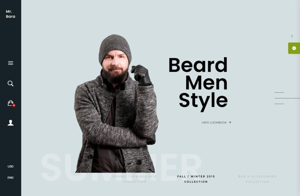 LookBook Fashion Inspiration WordPress Theme – Mr.Bara