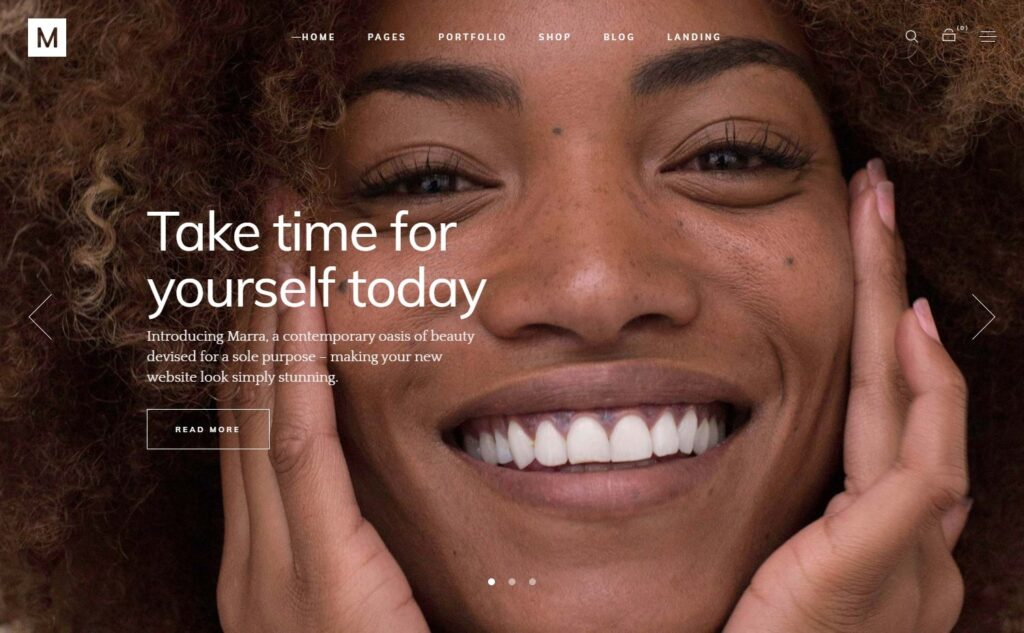 Marra Beauty WordPress Theme
