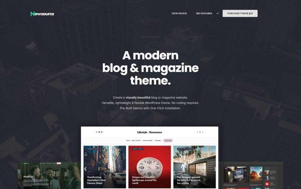 Newsource Demo Selector – Newsource