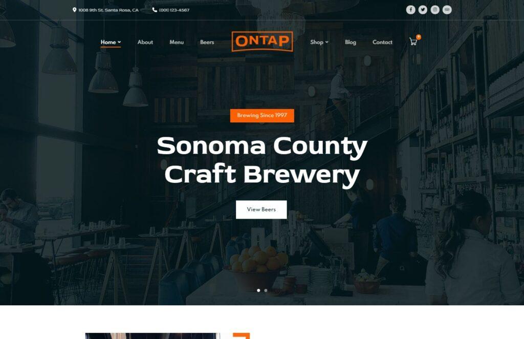 OnTap – Brewery Restaurant