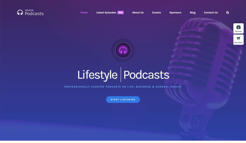 Podcasts – Avada Website Builder For WordPress WooCommerce