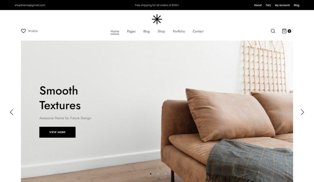 Reeco Clean Simple Grid WooCommerce Theme