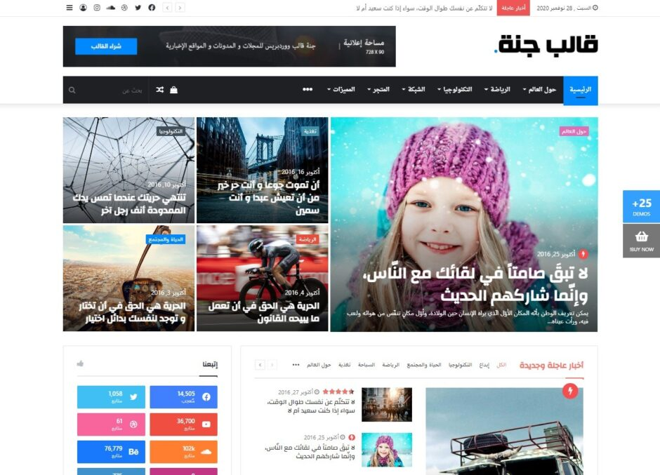 Right to Left or RTL Language WordPress Themes