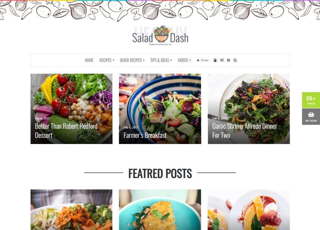Salad Dash – Great DashesIdeas Quick Easy Salad Dash