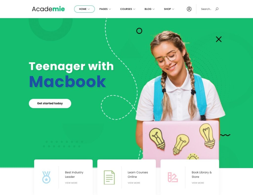 Academie – eLearning WordPress Theme
