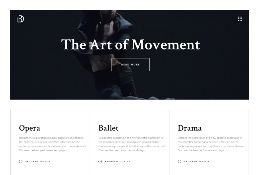 Bard – Bard – A Theatre and Performing Arts Theme
