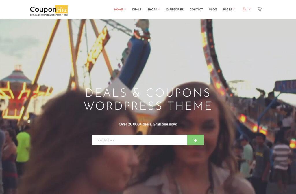 CouponHut – Coupons Deals WordPress Theme
