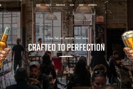 Craft Beer and Brewery WordPress Themes