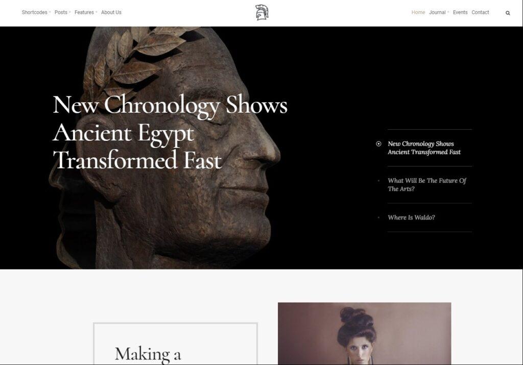 Cultera Art Culture WordPress Theme
