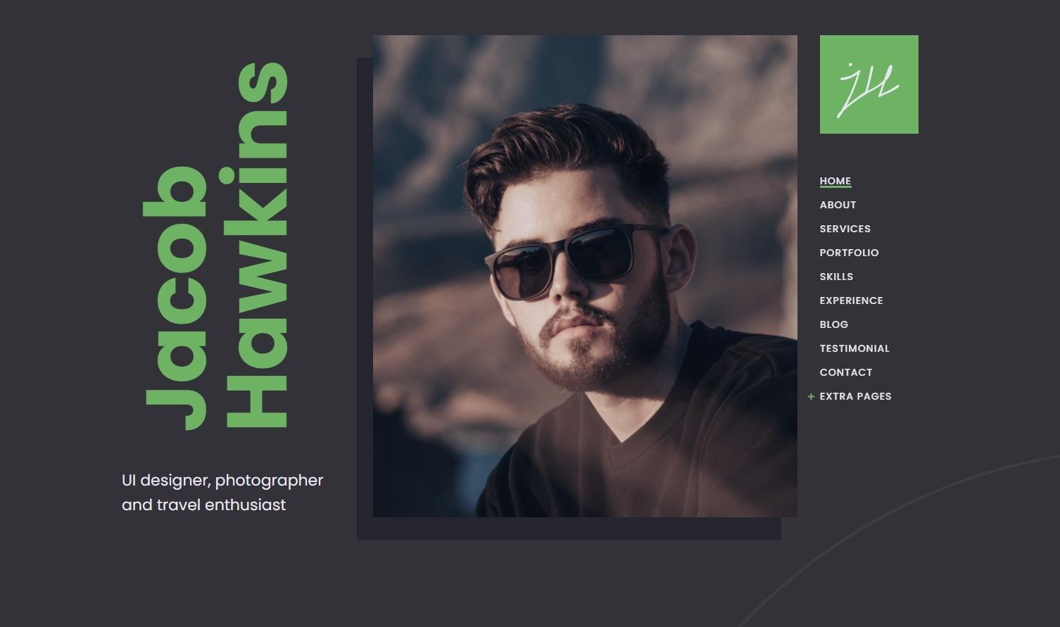 Fabius – Resume WordPress Theme