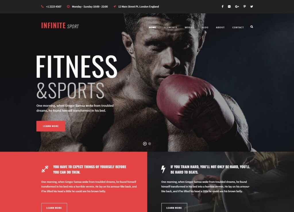 Infinite – Fitness – Just another Infinite Demos Sites site