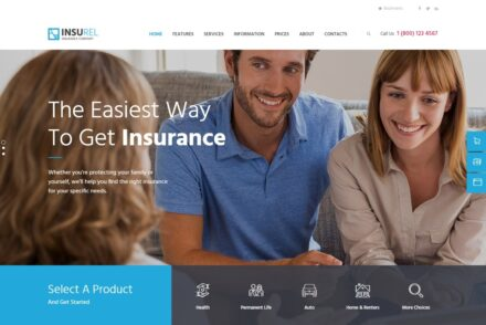 Insurance Agency WordPress Themes