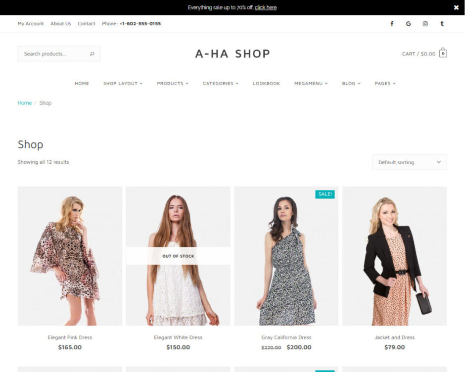 Jewelry Shop WordPress Themes