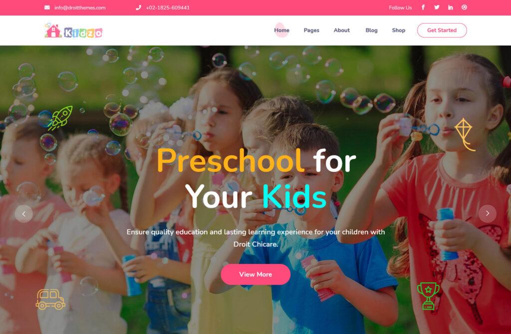 Kidzo – Childcare WordPress Theme