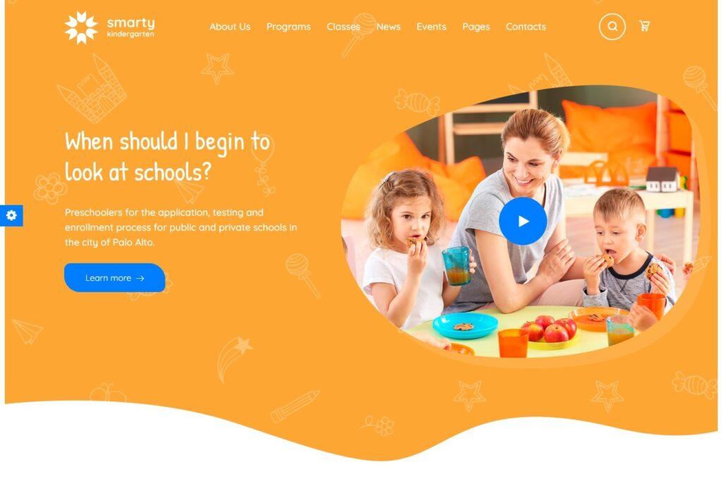 Kindergarten WordPress Theme – Smarty