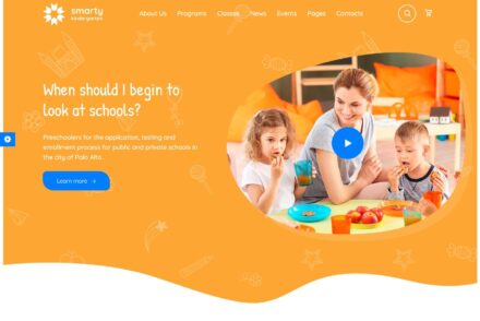 Kindergarten WordPress Themes