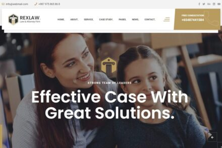 Law Firm and Lawyer WordPress Themes