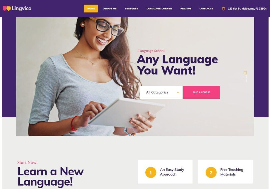 Lingvico – Language Learning School – Just another WordPress site