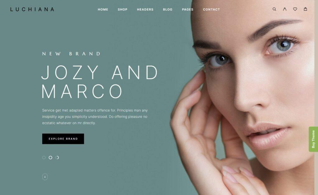 Luchiana – Cosmetics and Beauty Shop