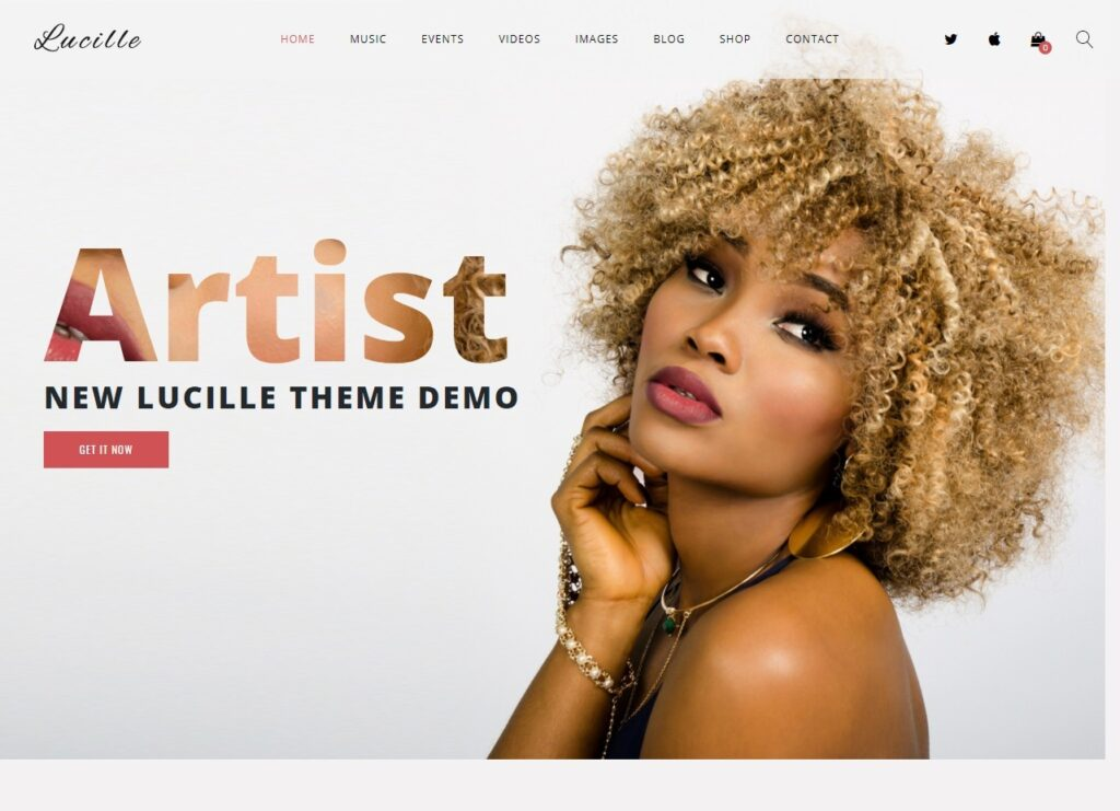 Lucille – WordPress Music and Theater Related Theme