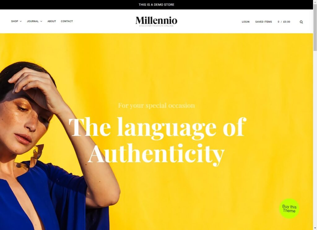 Millennio WordPress Theme Demo Themes Kingdom